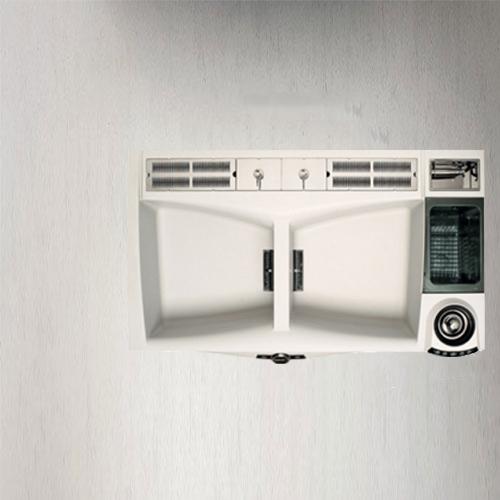 سینک گرانیتی مدل MAX 1000 DELUXE الیچی | آشپزخانه پارسه