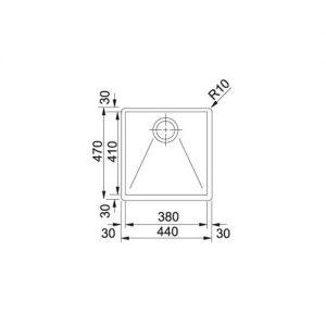 سینک PPX210-44-511 فرانکه | اشپزخانه پارسه