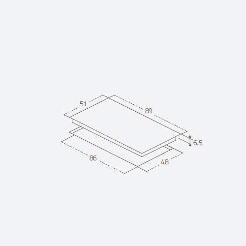 گاز رومیزی FILO 5G SIDE زیگما | آشپزخانه پارسه