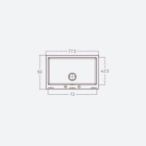 سینک توکار مدل ST F1B 71 AUTO زیگما | آشپزخانه پارسه