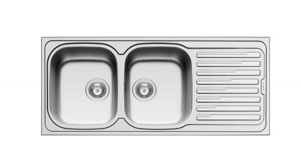 سینک ظرفشویی توکار مدل AMALTIA 2B 1D پیرامیس| آشپزخانه پارسه