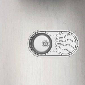 سینک ظرفشویی توکار مدل SR TWIG پیرامیس| آشپزخانه پارسه