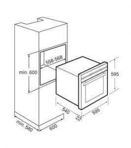فر برقی توکار مدل HX 790 تکا | آشپزخانه پارسه