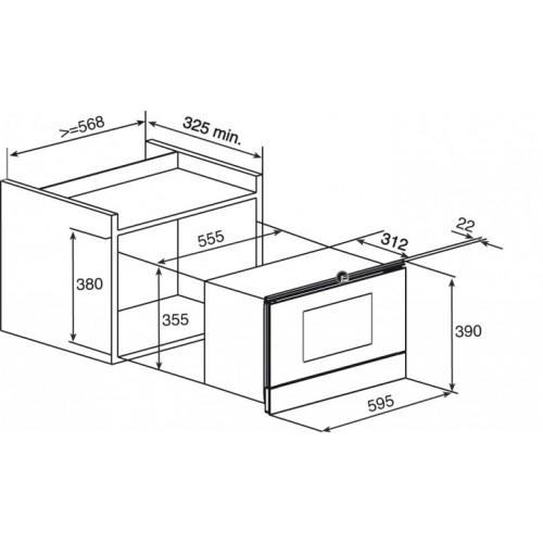 مایکروویو توکار مدل MWL 22 EGL تکا | آشپزخانه پارسه