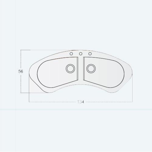 سینک توکار مدل Tao 2B 130 st AUTO زیگما | آشپزخانه پارسه